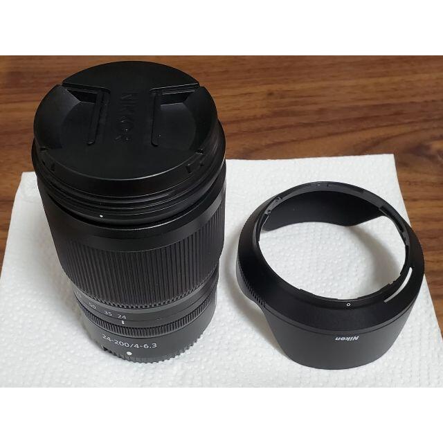 Nikon(ニコン)のNIKON NIKKOR Z 24-200 F4-6.3 VR (Zマウント) スマホ/家電/カメラのカメラ(レンズ(ズーム))の商品写真