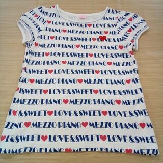 メゾピアノジュニア(mezzo piano junior)のメゾピアノ 150cm 半袖 Tシャツ 02MN06131496(Tシャツ/カットソー)
