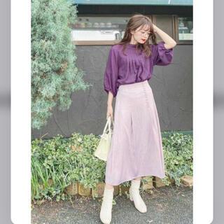PROPORTION BODY DRESSING - プロポーションボディドレッシング♡サイドボタンサテンスカート