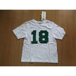 ENFOLD - タグ付・ナゴンスタンスの18ロゴTシャツ