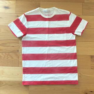 Ron Herman - 美品 ロンハーマン 半袖 Tシャツ S ボーダー 赤