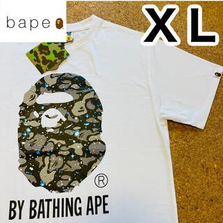 A BATHING APE - A BATHING APE  エイプ のTシャツ 白 XL