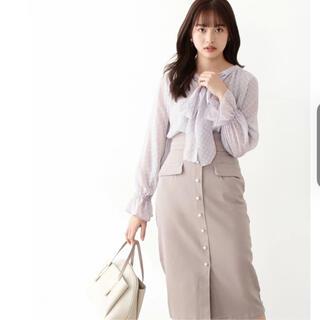 PROPORTION BODY DRESSING - proportion body dressing パール釦 スカート