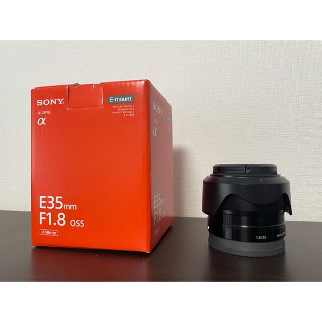 SONY(ソニー)のSONY E 35mm F1.8 OSS   SEL35F18 スマホ/家電/カメラのカメラ(レンズ(単焦点))の商品写真