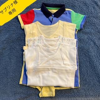 ラルフローレン(Ralph Lauren)のラルフローレン ベビー 男の子 9M 短肌着3枚セット(ロンパース)