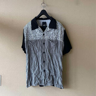Jieda - 【JieDa/ジエダ】 切替し シャーリングデザイン オープンカラーシャツ