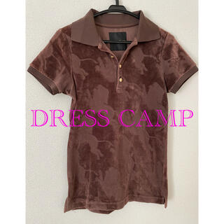 ドレスキャンプ(DRESSCAMP)のDRESS CAMP ドレスキャンプ ポロシャツ 44(ポロシャツ)