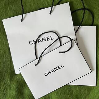 シャネル(CHANEL)のCHANEL 紙袋 3枚(ショップ袋)