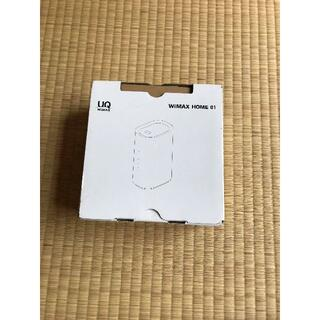 Wi-Fiルーター WiMAX HOME01