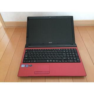 エイサー(Acer)のB62 Corei5 SSD 128GB 8GB  ブルーレイ エイサー(ノートPC)