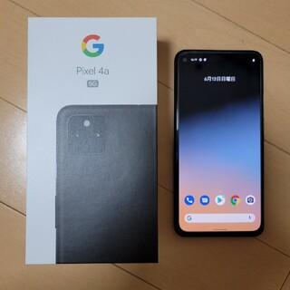 Google Pixel - SIMフリー Pixel 4a 5G 128GB ブラック