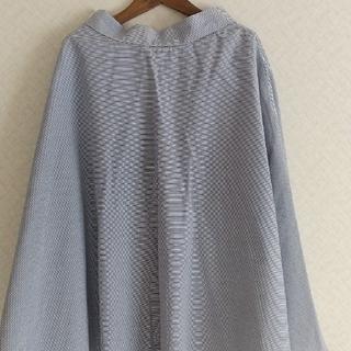 ユニクロ(UNIQLO)のユニクロ フレアスカート ブルー(ロングスカート)