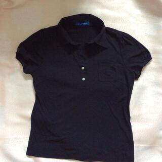 LAPINE - ポロシャツ カットソー 紺色 ネイビー
