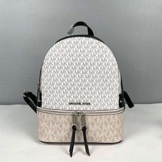 Michael Kors - MICHAEL KORS Rhea RZIPミッドサイズのパッチワーク色のバッグ
