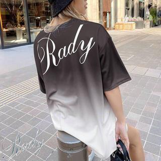 Rady - 確認用 グラデーションバックロゴTシャツ