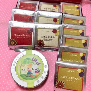 ルピシア(LUPICIA)の【新品】ルピシア KORPOKKUR 50g 北海道地区限定デザインラベル缶入(茶)