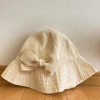 トッカ(TOCCA)のTOCCA 折り畳める帽子(ハット)