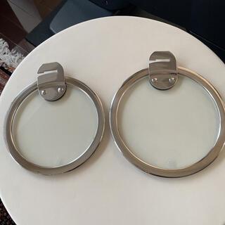 babbi様 専用CRISTEL クリステル ガラス蓋 2枚セット(鍋/フライパン)