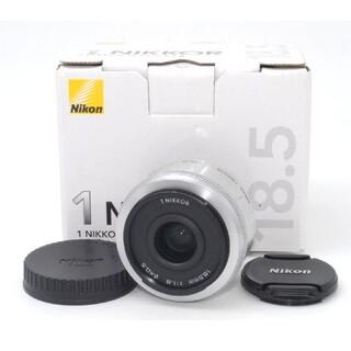 Nikon - ニコンミラーレス用単焦点レンズ♪Nikon 1 18.5mm F1.8