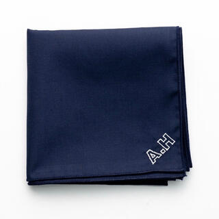ワンエルディーケーセレクト(1LDK SELECT)の【BROOXON + A.H】バンダナ  ハンカチ スカーフ チーフ 限定発売(バンダナ/スカーフ)