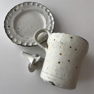 器のしごと 村上直子 マグカップ 小皿 箸置きセット