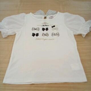 メゾピアノジュニア(mezzo piano junior)のメゾピアノ 140cm 半袖 Tシャツ 02MN06131498(Tシャツ/カットソー)