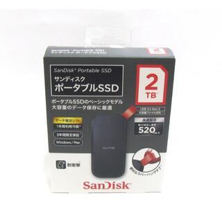 SanDisk SSD 外付け 2TB USB3.2 Gen2 読出最大520M
