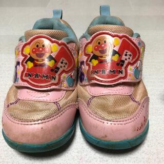 アンパンマン(アンパンマン)の【最安値】アンパンマン 靴 ピンク 15cm EE(スニーカー)