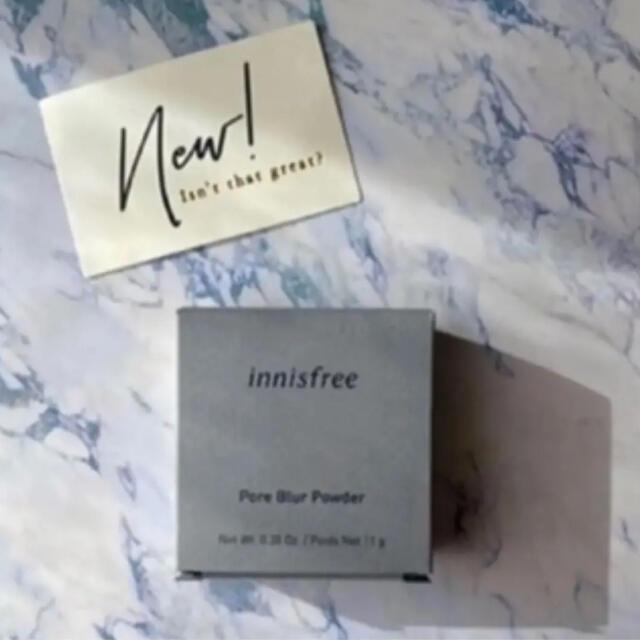 Innisfree(イニスフリー)の【新品・未使用】Innisfree イニスフリー ポアブラーパウダー コスメ/美容のベースメイク/化粧品(フェイスパウダー)の商品写真