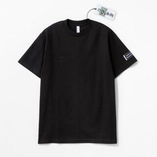 COMOLI - ennoy スタイリスト私物 同色反転右胸刺繍Tシャツ 黒 Lサイズ