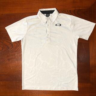 オークリー(Oakley)のオークリー ポロシャツ  白 Sサイズ メンズ(ポロシャツ)
