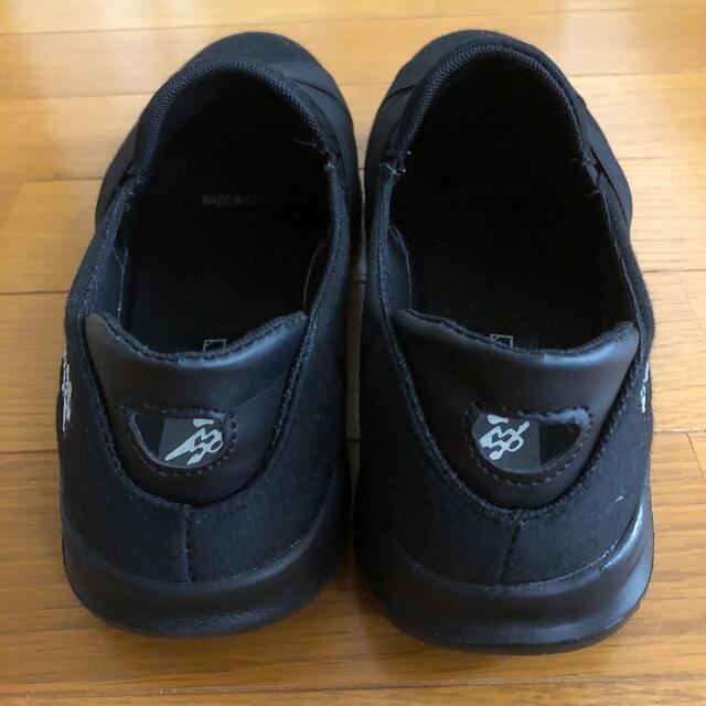 レディース 靴 Lサイズ ブラック 幅広 レディースの靴/シューズ(スニーカー)の商品写真