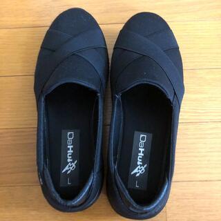 レディース 靴 Lサイズ ブラック 幅広