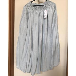 ユニクロ(UNIQLO)のユニクロ ギャザーロングスカート(ロングスカート)