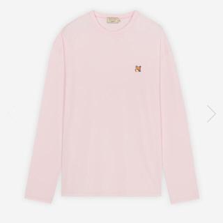 MAISON KITSUNE' - メゾンキツネ ロングスリーブTシャツ ピンク