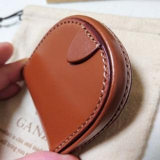 【未使用】GANZO シンブライドル純札入れ&馬蹄型コインケース ヘーゼル