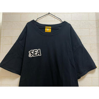 SEA - WIND AND SEA × FR2ロゴパッチTシャツPatch T-shirt