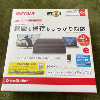 Buffalo - BUFFALO 外付けHDD 2TB HD-NRLD2.0U3-BA