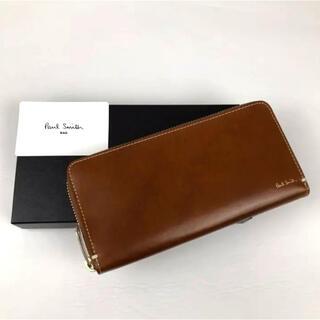 ポールスミス(Paul Smith)の新品 Paul Smith ポールスミス ラウンドファスナー 長財布 革小物(長財布)