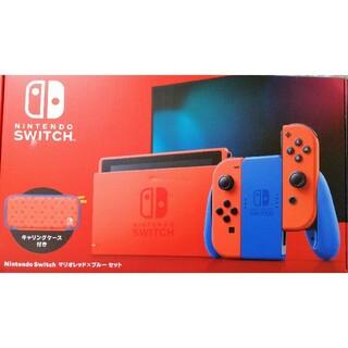 Nintendo Switch - Nintendo Switch本体 スイッチ マリオカラー レッド×ブルーセット