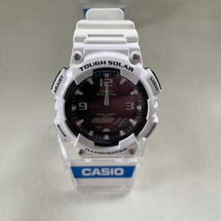 カシオ(CASIO)のカシオ タフソーラー ホワイト(腕時計(アナログ))