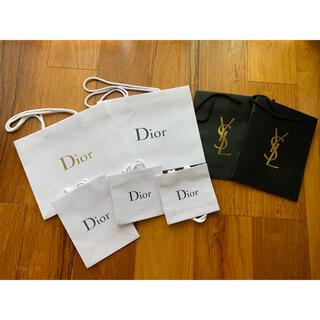 ディオール(Dior)のDior ディオール  イブサンローランショップ袋 7枚(ショップ袋)
