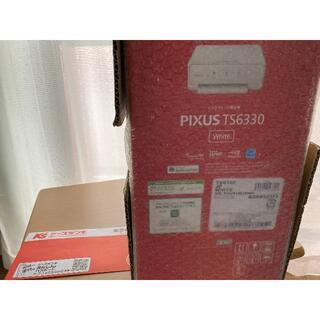 Canon - 【送料無料】キヤノン カラー複合機 PIXUSTS6330WH ホワイト