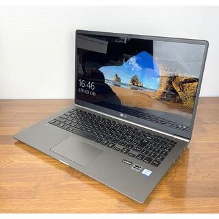 LG Electronics - LG gram 15 Z990-GA56J 超軽量ノートPC