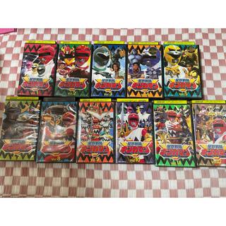バンダイ(BANDAI)の特撮シリーズ 星獣戦隊ギンガマン VHS(特撮)