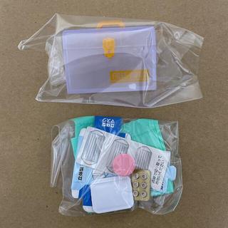 エポック(EPOCH)のお薬セット 救急箱 ミニチュア ガチャ(その他)