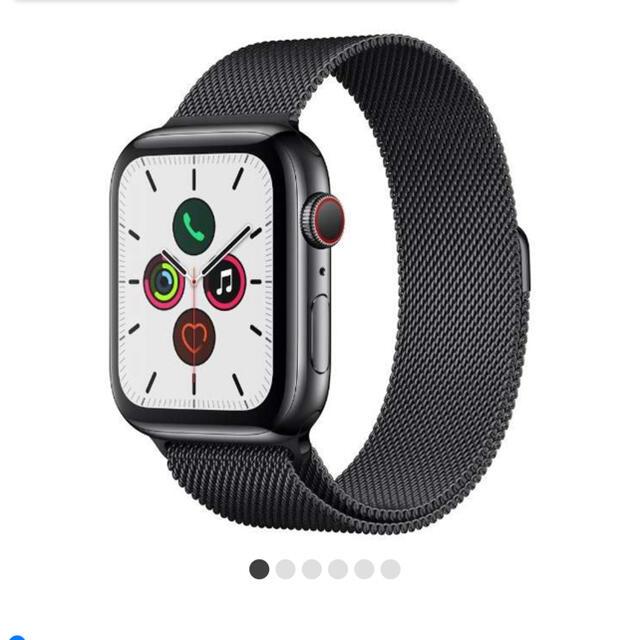 Apple Watch(アップルウォッチ)の専用K様 Apple Watch Series 5 GPS Cellular メンズの時計(腕時計(デジタル))の商品写真