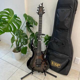 602 美品 E-Ⅱ ESP FRX series BK 送料込み(エレキギター)