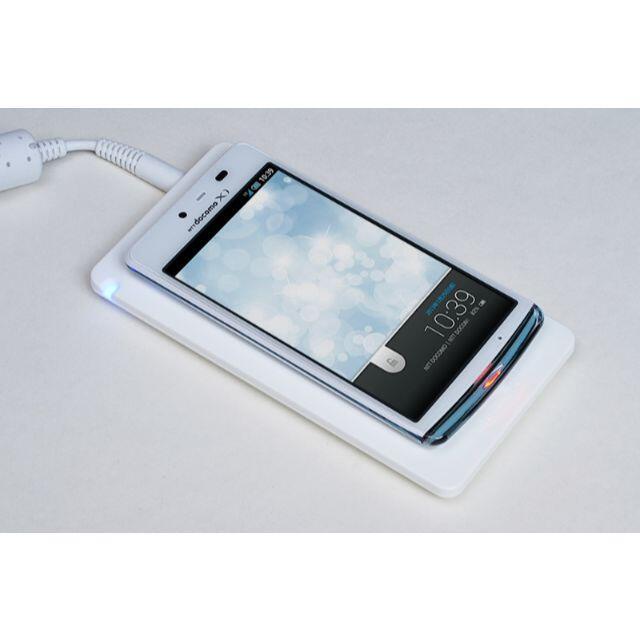 SHARP(シャープ)のシャープ AQUOS PHONE EX 白◆ワイヤレス充電◆新品未使用◆送料無料 スマホ/家電/カメラのスマートフォン/携帯電話(スマートフォン本体)の商品写真