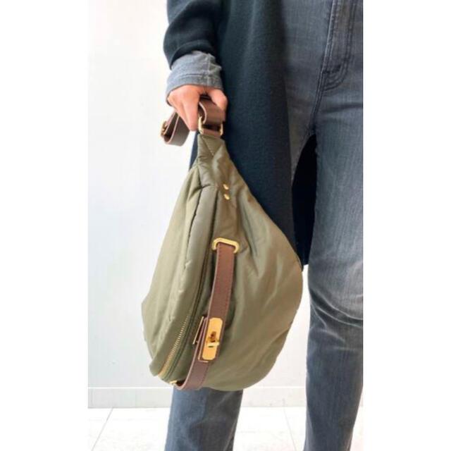 DEUXIEME CLASSE(ドゥーズィエムクラス)の【SITA PARANTICA/シータパランティカ】ウエストバッグ カーキ レディースのバッグ(ボディバッグ/ウエストポーチ)の商品写真